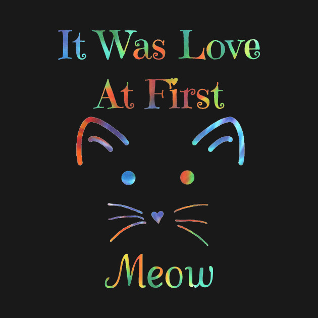 It Was Love At First Meow