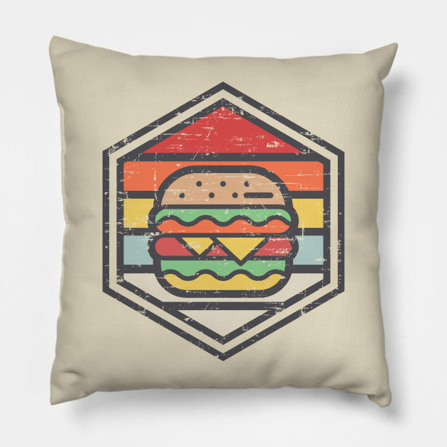 Retro Badge Burger Light