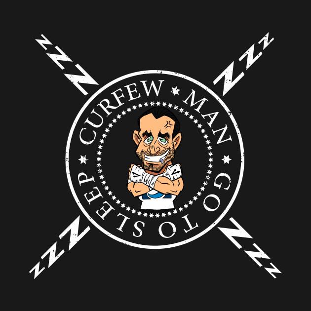 Curfew Man Cartoon