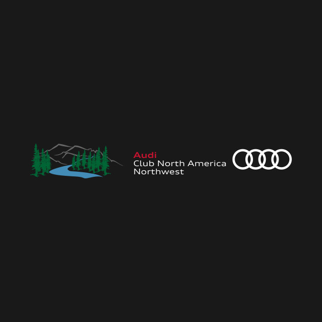 Audi Club North America Northwest (dark)