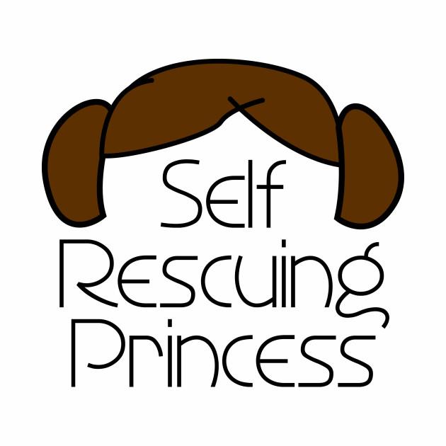 Self Rescuing Princess of Alderaan