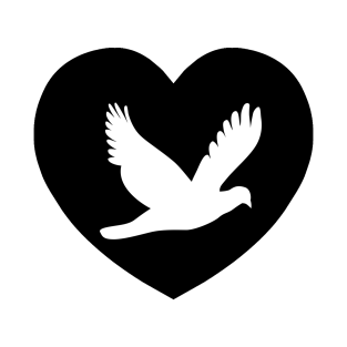 Dove Love | I Heart... t-shirts