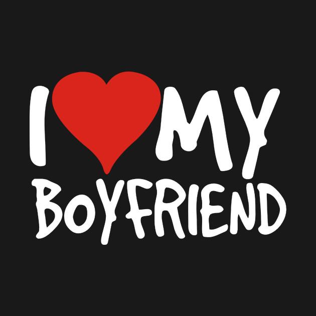 I Love My Boyfriend Music T Shirt Teepublic