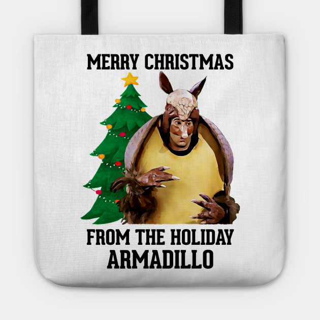 Christmas Armadillo Friends.Friends Merry Christmas From The Holiday Armadillo