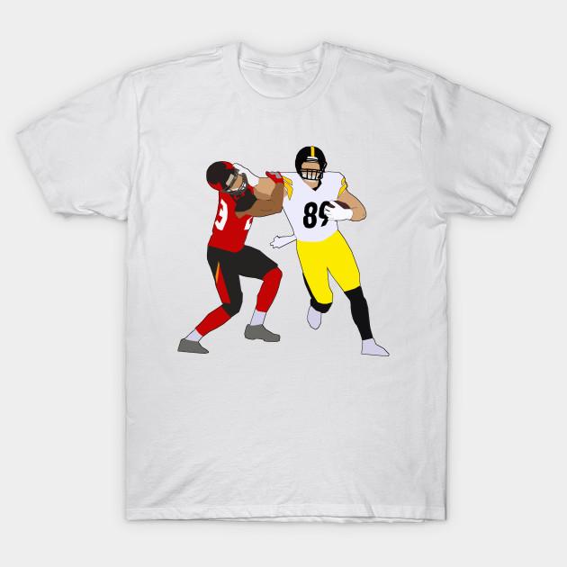 34b3e7e2 Vance McDonald Stiff Arm - Pittsburgh Steelers