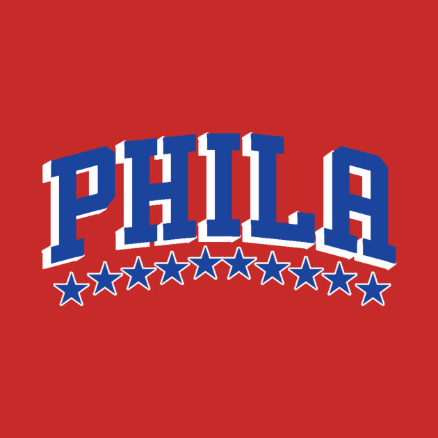 Sixers - Phila (Blue and White)