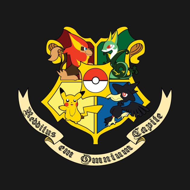 Pokemon House Crest Pokemon T Shirt Teepublic
