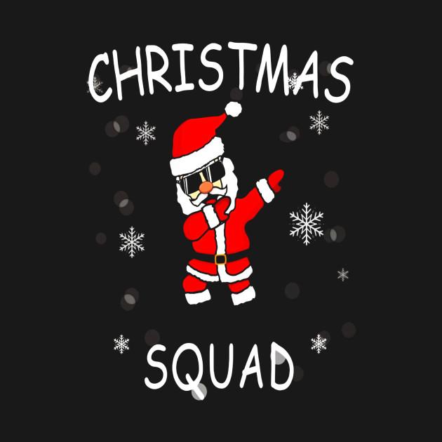 94ef44097 Funny Dabbing Santa T Shirt Christmas Squad Tee - Thanksgiving - T ...