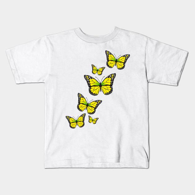 Monarch Butterfly Lover Tee Butterflies Wings Design For Girls Kids Women  Kids T-Shirt ee64ad346