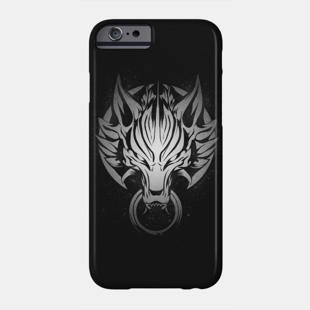 CLOUD STRIFE S WOLF EMBLEM BLACK iphone case