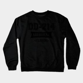 99e07c22b DD-214 US AIRBORNE Division Alumni Vintage Shirt Crewneck Sweatshirt