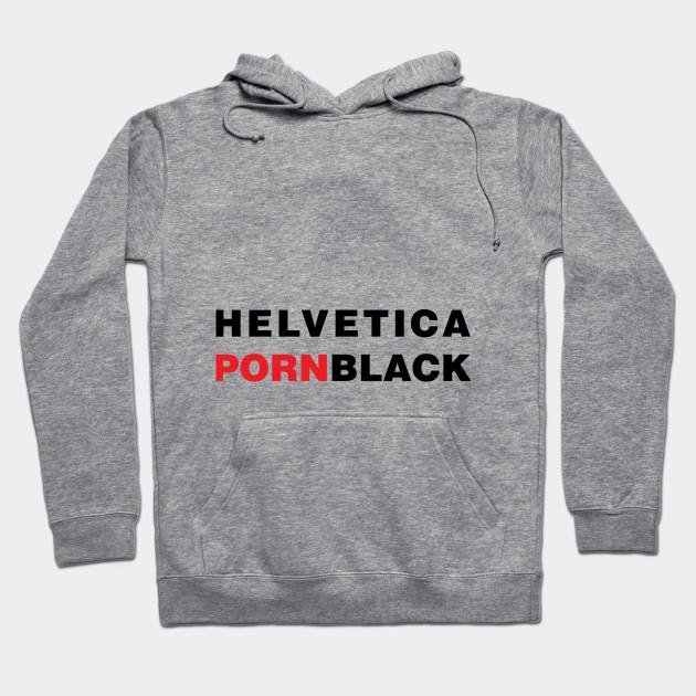 HELVETICA PORN BLACK - Helvetica Type Typeface Font