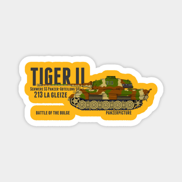 Tiger II 213 La Gleize Battle of the Bulge