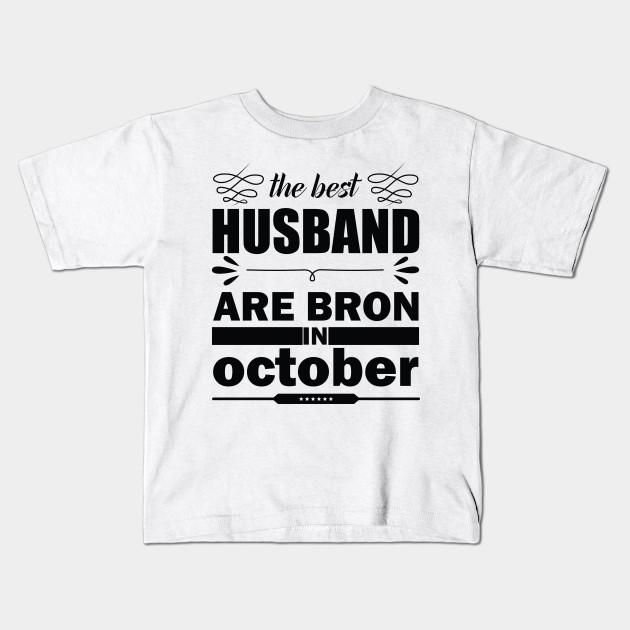 Birthday Tshirt Happy Husband Gift Kids T Shirt