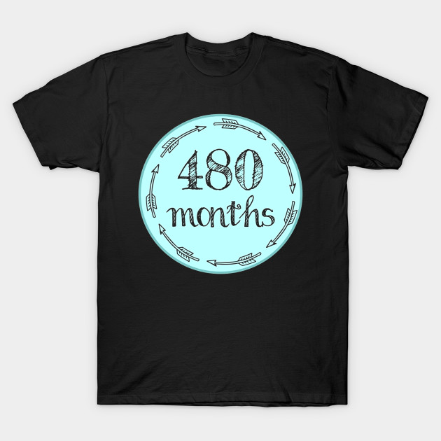 ef8d44d71 Funny Funny 40th Birthday Shirt Milestone Belly Badge Gift Tee - Mom ...