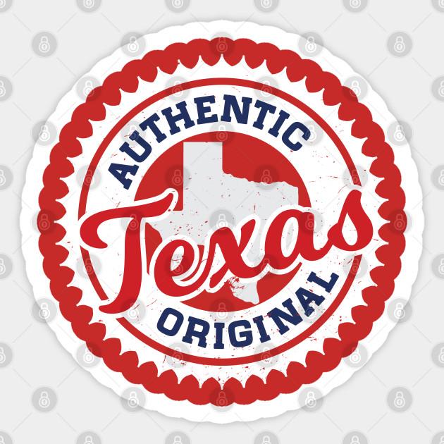 Texas Authentic Original Texans Colors Houston Texans Sticker Teepublic