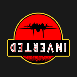 Top Gun Jurassic Park Inverted t-shirts