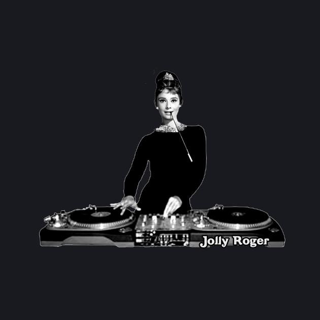Audrey Hepburn Dee Jay