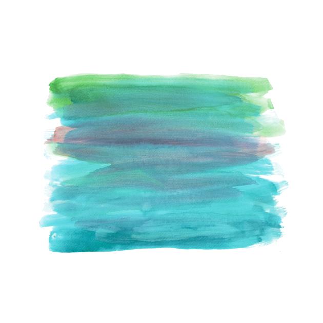 watercolor gradient painting