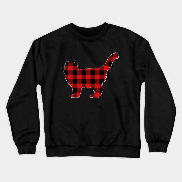 American Curl Lover Buffalo Plaid Pattern