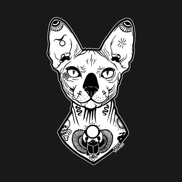Sphynx Tattooed