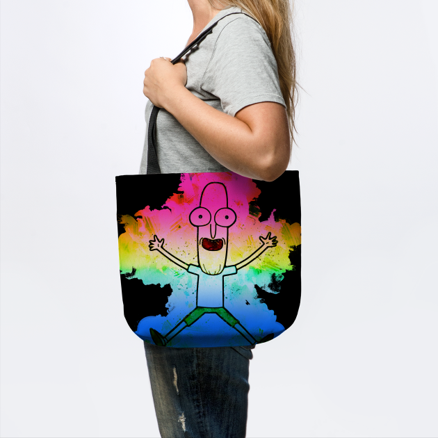 Mr. Poopy Butthole Rainbow Paint Splatter