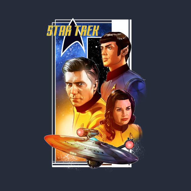 Pike, Spock and Number 1