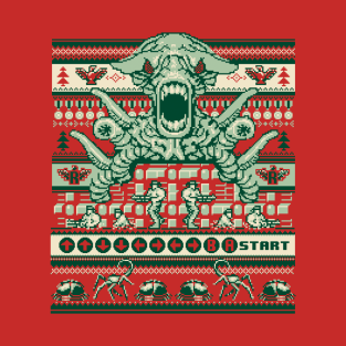A Contra Family Christmas t-shirts