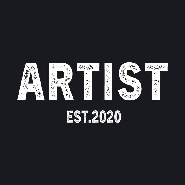 Artist Est 2020 Graduation Gift