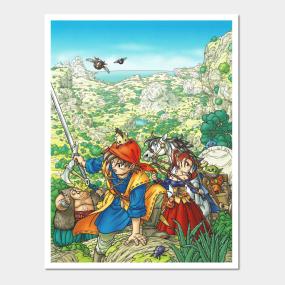 Dragon Quest Xi Posters and Art Prints | TeePublic