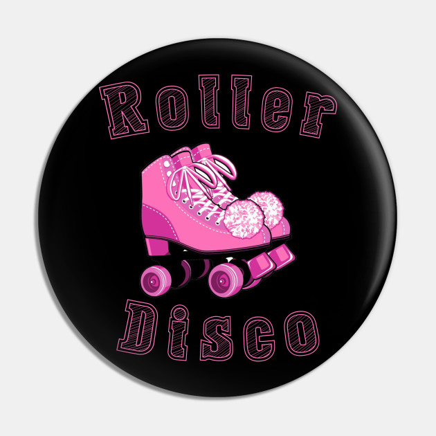 Vintage Roller Disco 80'Retro Themed Design