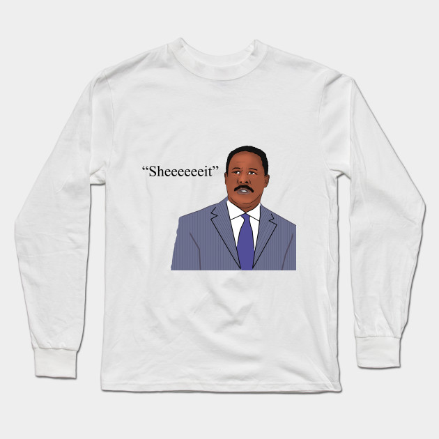 The Wire - Senator Clay Davis, Sheeeeeeit. - The Wire - Long Sleeve ...