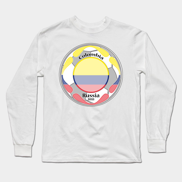 c3757a1a67f amazing t-shirt football flag country unisex colombia tee shirt Long Sleeve  T-Shirt