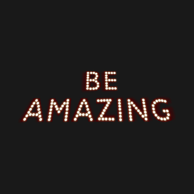 Be Amazed By These White Bathroom Design Ideas: Be Amazing - Beamazing - T-Shirt