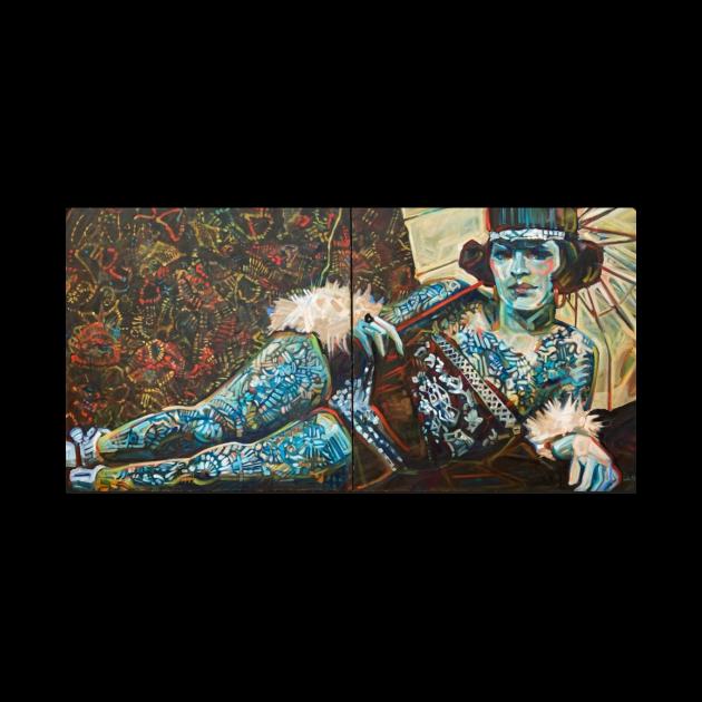 Mahitable, the tattoo'd lady