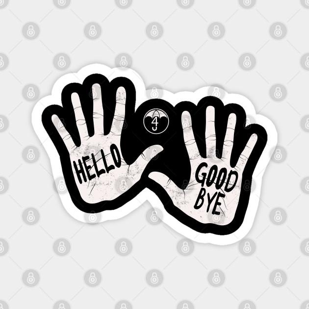 Klaus/'s Hello Goodbye Tote The Umbrella Academy