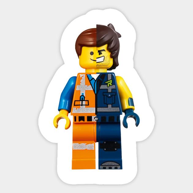 Lego Movie 2 Emmet And Rex Lego Movie 2 Sticker Teepublic