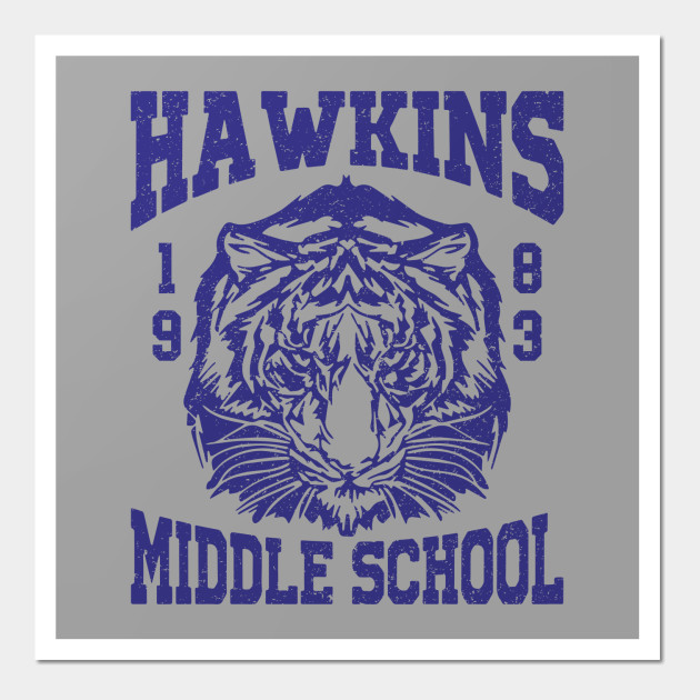 Stranger Things - Hawkins Middle School (mugs, shirts, and more merch)