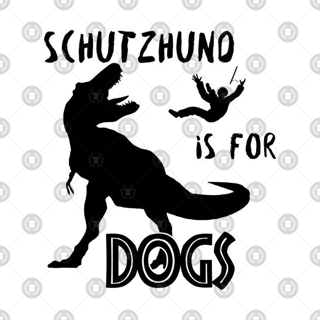 Schutzhund T-Rex - black