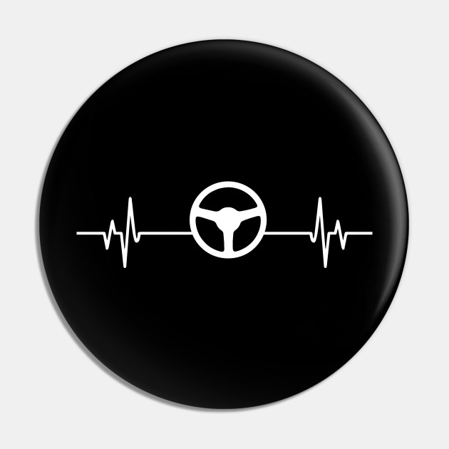 Car Race heartbeat - Cool Funny Driving Lover Gift