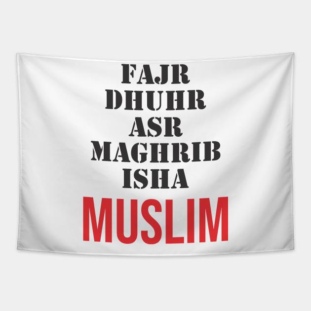 Islam - Moslem Praying Five Times