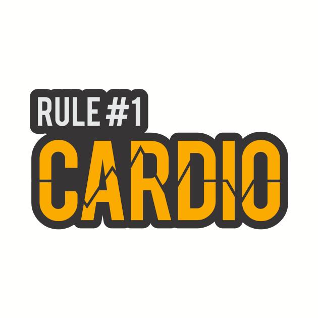 Zombieland Rule 1 Cardio Cardio T Shirt Teepublic