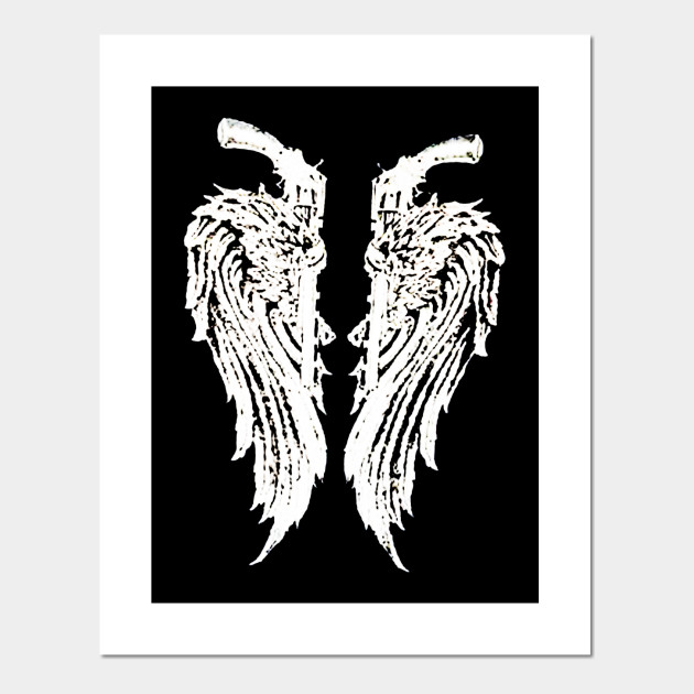 Angel Wings With Guns