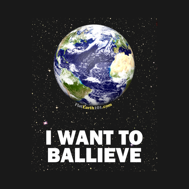 I WANT TO BALLIEVE - Spinning Water Ball Earth