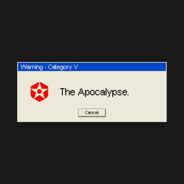 Cancel The Apocalypse!