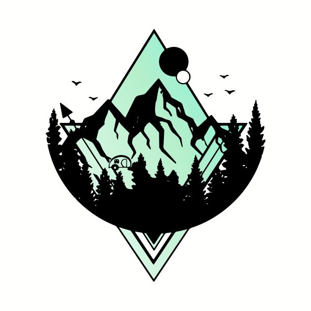 nomad earth shirt green