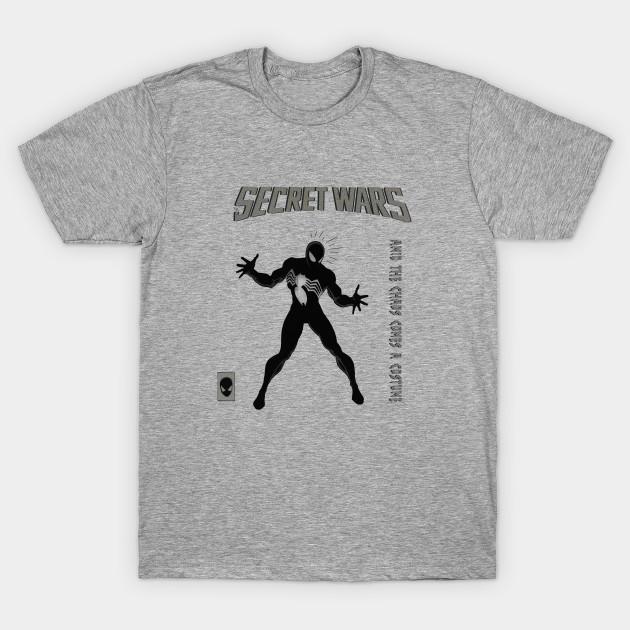 b0c3e401 Spider-man Secret Wars Black Suit - Spider Man - T-Shirt | TeePublic