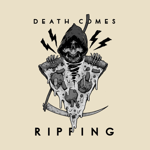 Death Comes Ripping - the colorless edition