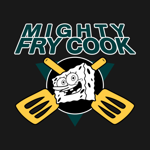 The Mighty Fry Cook T-Shirt thumbnail
