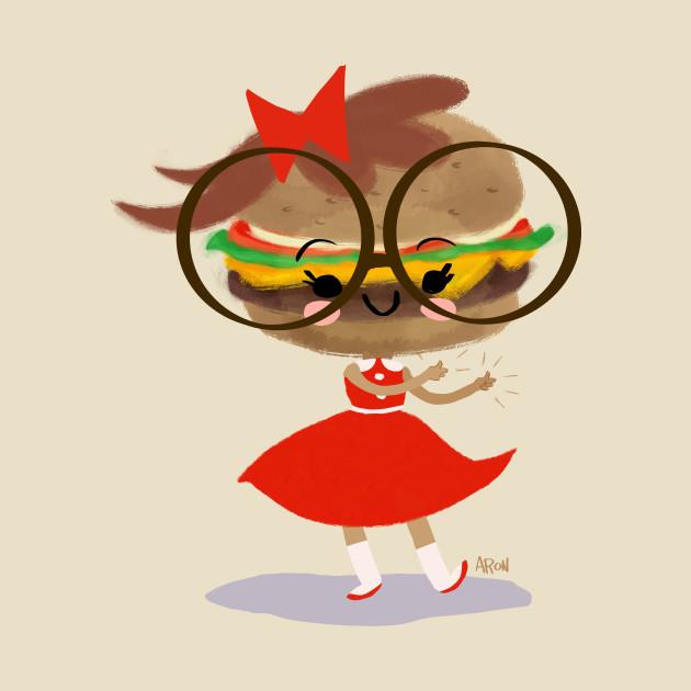 Burger Cutie Time